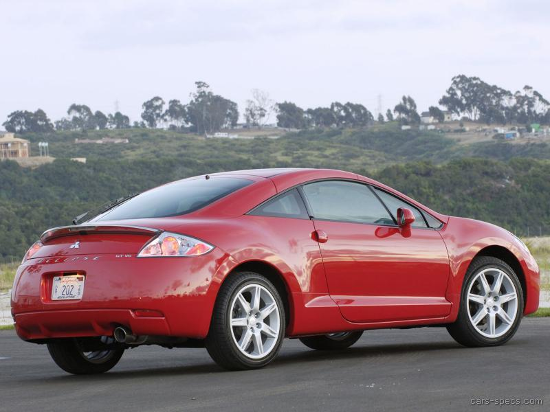 2007 mitsubishi eclipse hatchback specifications pictures prices. Black Bedroom Furniture Sets. Home Design Ideas