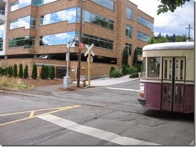 IMG_8447 Willamette Shore Trolley at Nebraska Street in Portland, Oregon on August 19, 2007