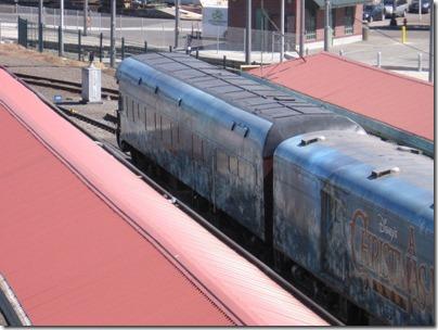 IMG_7637 Christmas Carol Train Car #800702 at Union Station in Portland, Oregon on July 1, 2009