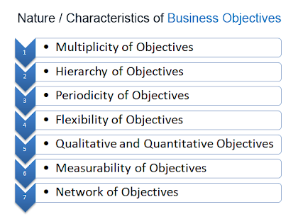 nature characteristics of business objectives