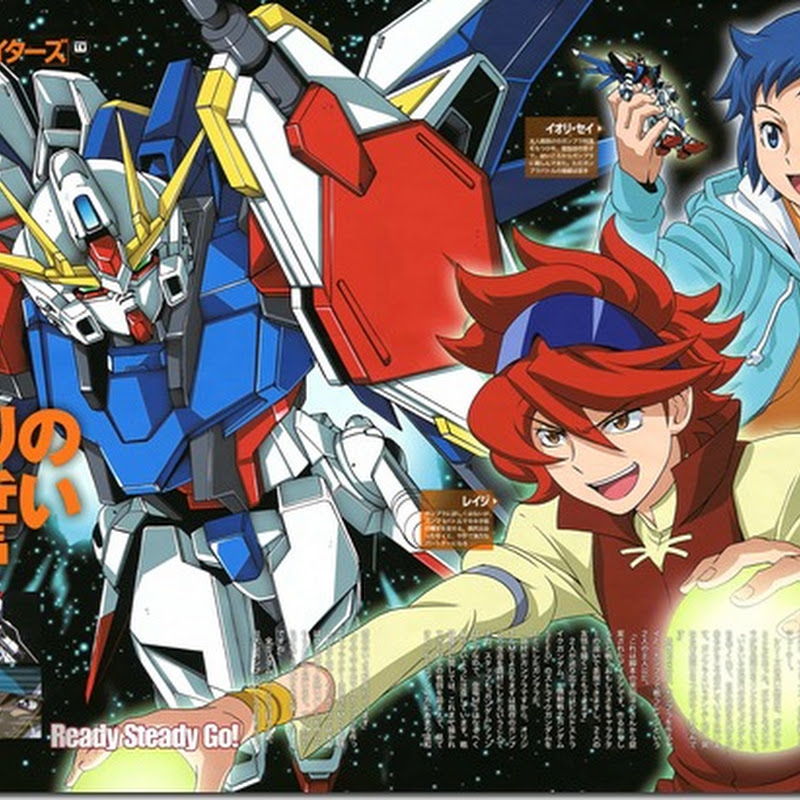 [Review] Gundam Build Fighters