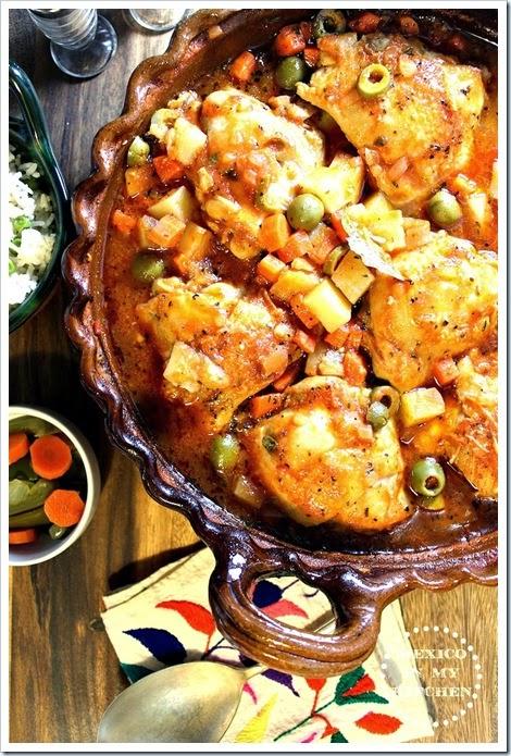Chicken Stew Veracruz Style