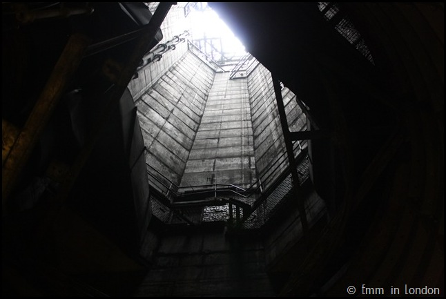 Looking Up the Ventilation Shaft