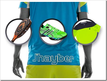 J'hayber: todos los amantes del pádel ya pueden disfrutar su nueva colección 2015.