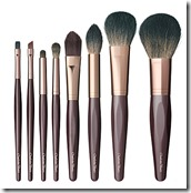 Charlotte Tilbury complete makeup brush set