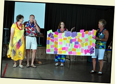 11c2 - Hawaiian Luau - May 30 - Presentation to Howard and Linda