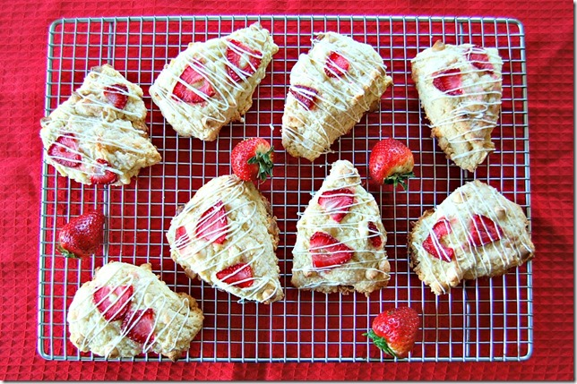 Strawberry Scones1
