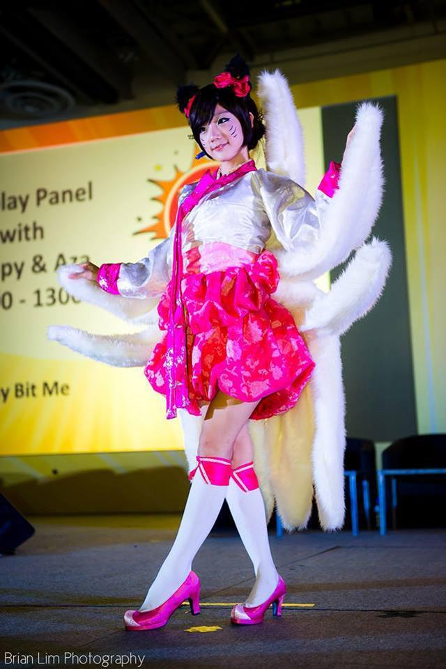 Miyuko khoe cosplay Ahri tại STGCC 2013 - Ảnh 15