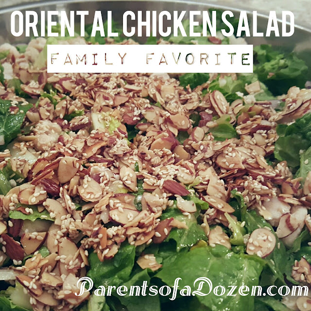 This is the best salad and is great to serve for special occations!