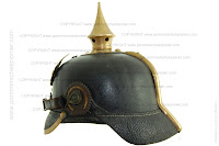 Prussian helmet model 1895