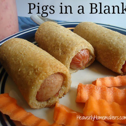 Healthy Homemade Pigs in a Blanket
