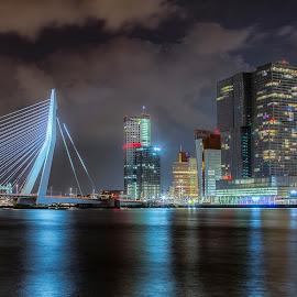 Rotterdam Skyline by Henk Smit - City,  Street & Park  Skylines