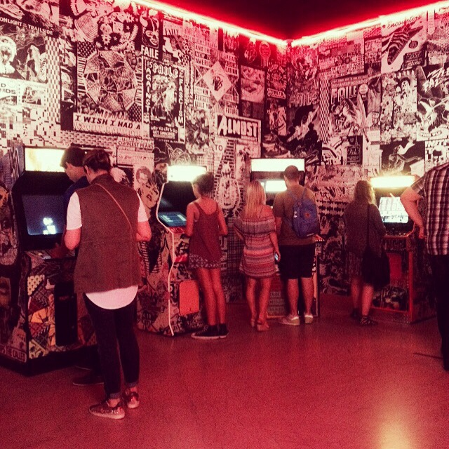 Faile Blast Deluxx Fluxx Arcade 2010 at Brooklyn Museum
