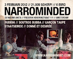 03 February 2012 - Narrominded Label Night, Amsterdam   (due to heavy snowfall we didn't go to Amsterdam)