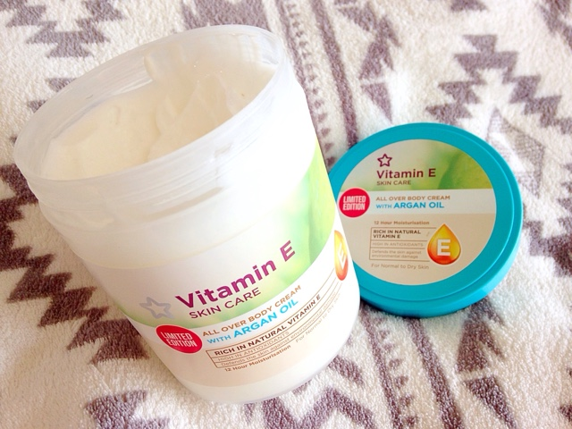 Vitamin E Skin Care All Over Body Cream with Argan Oil | www.londongirldiana.com