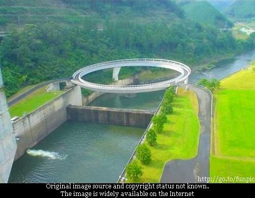 Travelogue Of An Armchair Traveller Fake Round Bridge