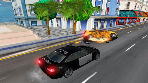 Police Highway Chase in City - Crime Racing Games screenshot 6