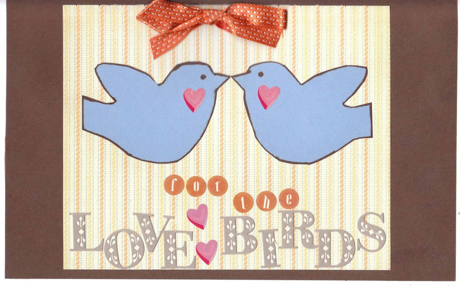 Love Birds Wedding Card {Find