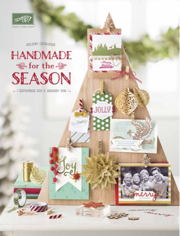 2015 Stampin' Up! Holiday Catalogue