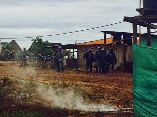 Petromil y el Esmad arrasan con protesta pacífica en Sahagún, Córdoba