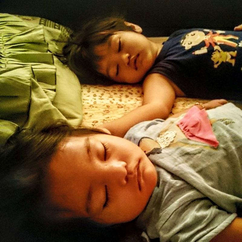 Zahra , tidur !