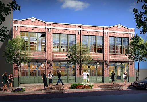 Rendering of Terry Avenue Building remake for Tom Douglas Restaurant, courtesy Vulcan Real EstateCQ
