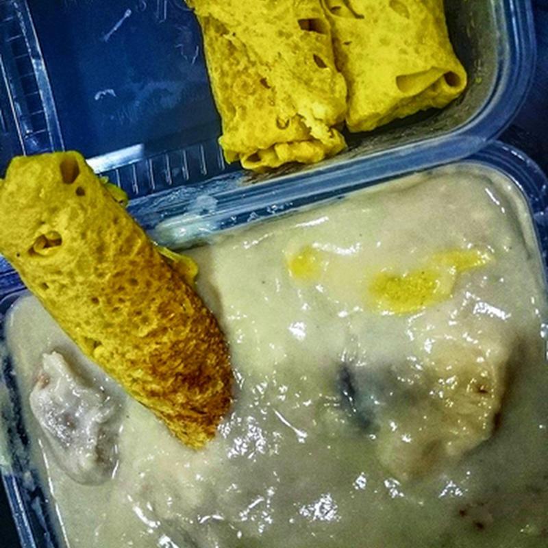 Makanan kegemaranku di musim durian !