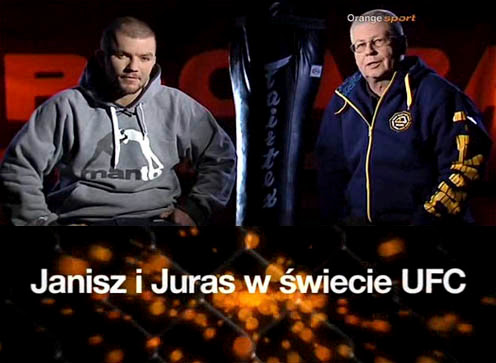 Janisz i Juras w ¶wiecie UFC: Podsumowanie 2012 Roku (2012) PL.TVRip.XviD / PL