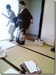 土曜日の他装着付練習でバッチリ (3)