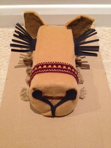 Livingdoing How To Make A Nativity Camel Costume