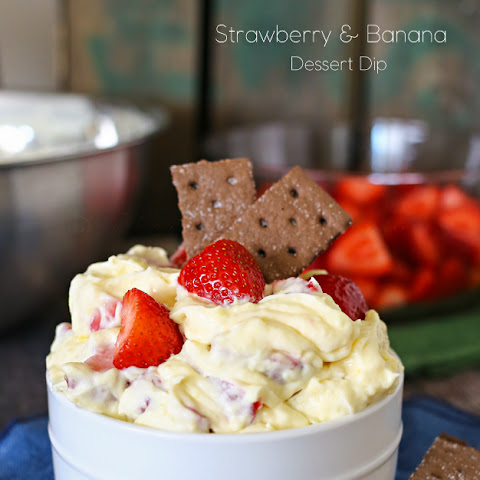 Strawberry & Banana Dessert Dip