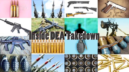Za kulisami Handlarze broni± / Inside DEA Takedown (2010) PL.TVRip.XviD / Lektor PL