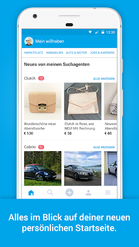 willhaben Android App Screenshot