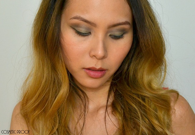Dior Diorshow 5 Couleurs Khaki Design FOTD Swatches Review (4)
