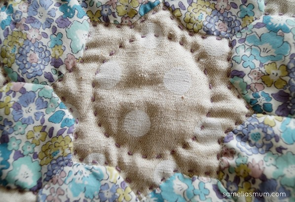 Four Octagons Quilting