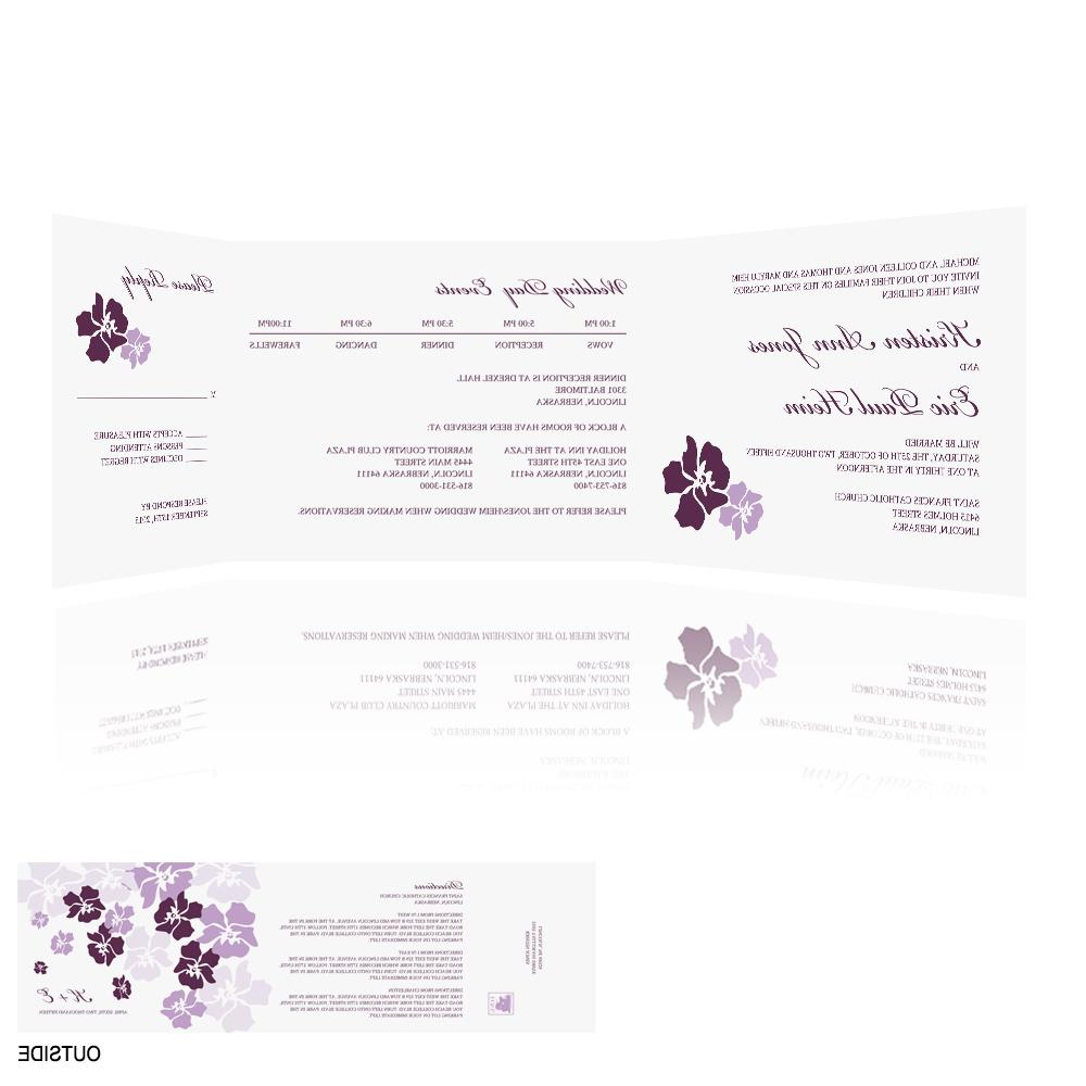 Wedding Invitations Floral