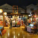 inside the Oedo Onsen Monogatari in Odaiba, Tokyo, Japan
