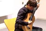 Carlos Martínez. Tribuna Rosa Gil del Bosque de Jóvenes guitarristas
