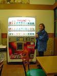 Wszechobecne wJaponii automaty znapojami.