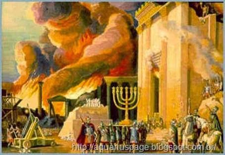 destruição templo judaico romanos