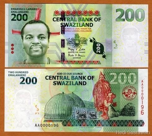 Mata uang Lilangeni