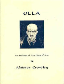 Cover of Aleister Crowley's Book Olla an Anthology of Sixty Years of Song