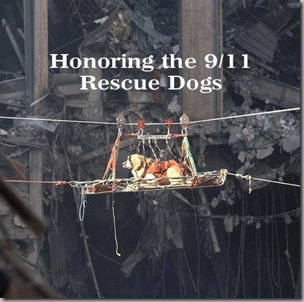 honoring 9-11 rescue dogs