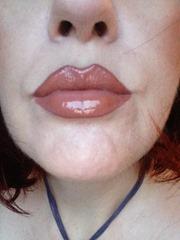 bare minerals Moxie Lipgloss in Spark Plug