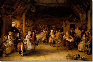 Sir David Wilkie - The Penny Wedding 1818