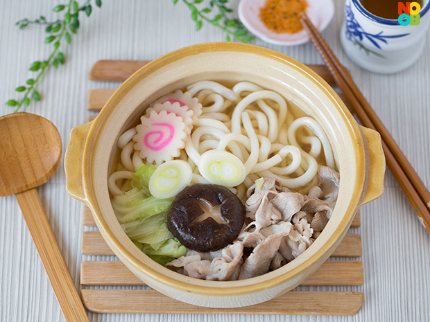 pork and noodle soup with shiitake and snow cabbage pork and noodle ...