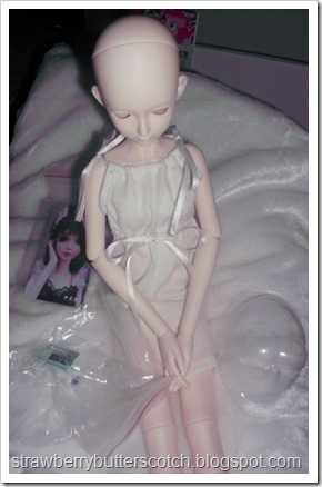 New BJD in her First Dress