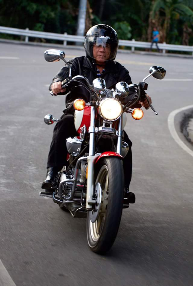 Image of Duterte never visited Muntinlupa, GMA News publishing a fake Duterte story, Duterte for Real Change, Duterte rode his motorcycle around Muntinlupa, Digong told Fresnedi he wanted all the vendors out of the streets and inside the market selling area, Mayor Jaime Fresnedi