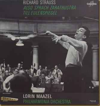 Maazel Strauss Philharmonia Columbia