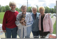 Cousins: Marti, Evelyn, Nancy & Diana. So much fun to be together!